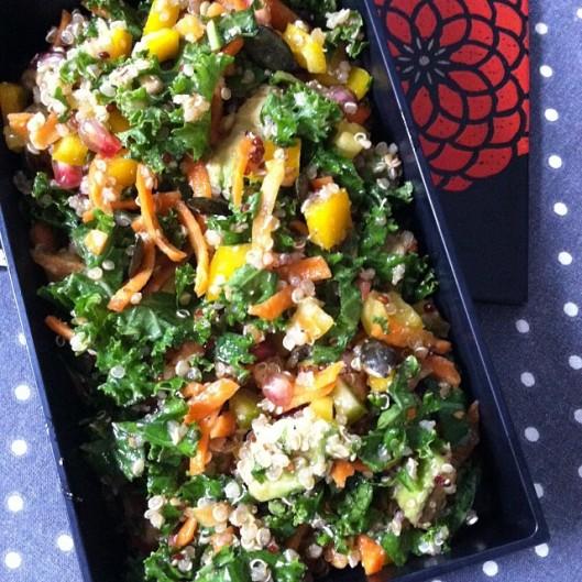 Salade de kale et quinoa